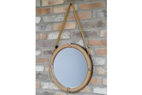 Rope and Metal Mirror